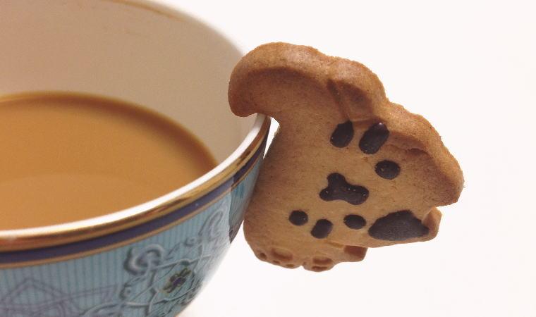 ぶらさがりネコクッキー『ねこカップ』を食べてみた