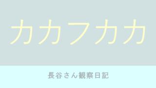 カカフカカ 5巻 石田拓実【ネタバレ感想】長谷さん観察日記