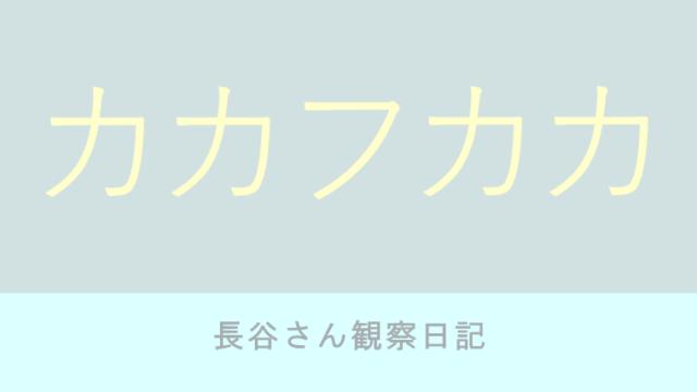 カカフカカ 4巻 石田拓実【ネタバレ感想】長谷さん観察日記