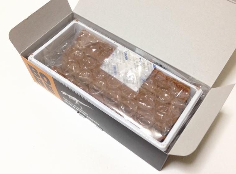 福井県立恐竜博物館 チョコスティッククッキー 開封