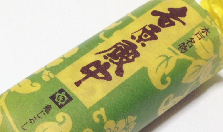 【茨城おみやげ】水戸名物『吉原殿中』が素朴な味わいで美味しい