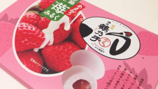 【福岡おみやげ】季節限定 苺みるく鶴乃子(つるのこ)が本家よりおいしかった