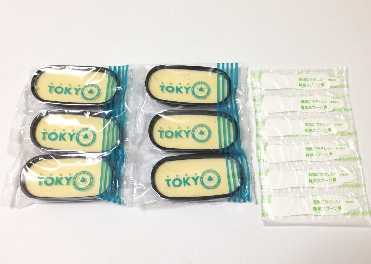 『東京カップdeチーズケーキ』 中身