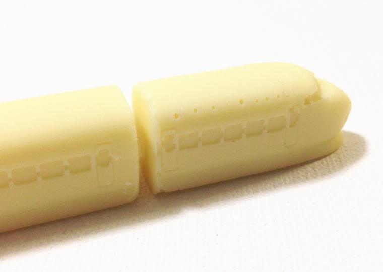 『つなぐ0系新幹線チョコ』 並べてみた