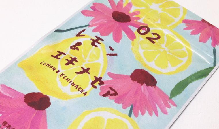 熊本のハーブティー『レモン&エキナセア02』『ピーチ&タンポポ03』