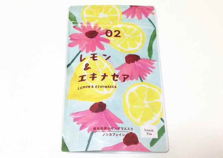 ハーブティー『レモン&エキナセア 02』