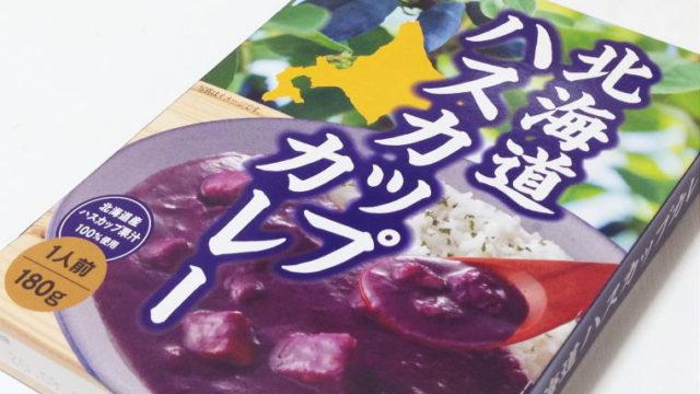 インパクト大!紫色のカレー食べた事ある?『北海道ハスカップカレー』