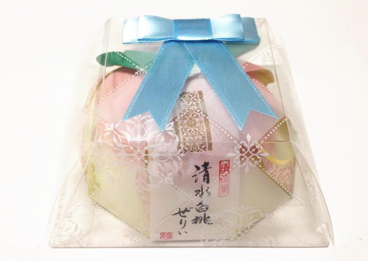 『清水白桃ぜりぃ』外箱付