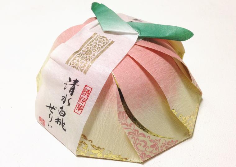『清水白桃ぜりぃ』