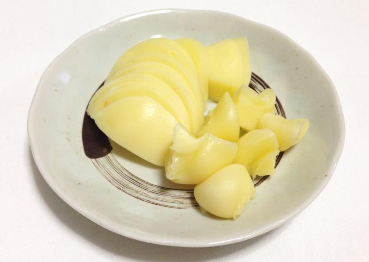 カチョカヴァロチーズ 切ってみた