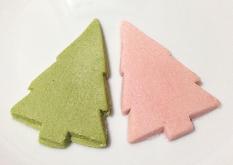 『とろける2色のツリーショコラ』開けた所